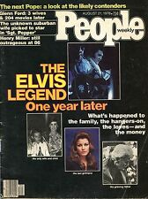 PEOPLE August 1978 - ELVIS PRESLEY One Year Later, Glenn Ford, Henry Miller-Good