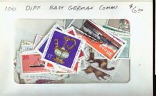 PACKET 100  DIFFERENT EAST GERMAN COMMEMORATIVE STAMPS