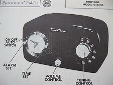 TRUETONE D2205 RADIO PHOTOFACT