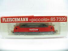 FLEISCHMANN N 85 7320 E-LOK BR 145 ROT RAILION (IM219)