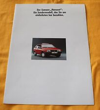 Lada Samara Hanseat 1990 Prospekt Brochure Depliant Catalogue AvtoVaz