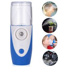 Mini Portable Travel Rechargeable Ultrasonic Nebulizer Inhaler Respirator Mesh