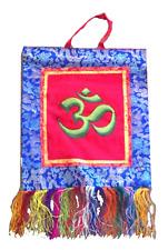 Om Mani Padme Hum Hanging Symbol Flag from Nepal *** LAST ONE ***