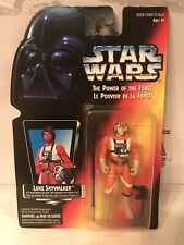 Star Wars The Power Of The Force X-Wing Luke Long Saber French Canadian