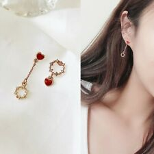Boho Retro Bohemian Shiny Crystal Rhinestone Tassel Chandelier Earrings