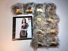 10 x 50 gr. Lanas Stop KOALA Farbe 512 Luxuswolle Fell Pelz Optik Garn Wolle NEU