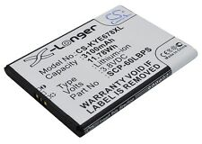 Battery 3100mAh type 5AAXBT076GEA SCP-60LBPS for KYOCERA E6762
