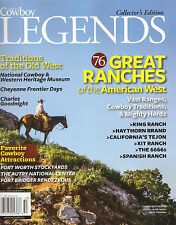 NEW! American Cowboy LEGENDS 2015 76 GREAT RANCHES Ranch of the West Traditions