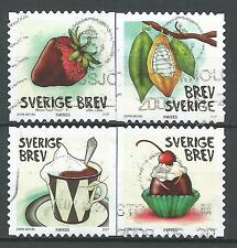 ˳˳ ҉ ˳˳SW10 Sweden Sverige Complete set 2007 Different Chocolate Strawberries