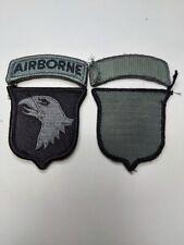 U.S. ARMY 101st Airborne Division Klett Aufnäher Patch ACU UCP