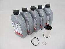Audi DSG Service Kit OEM ATF Transmission Dual Clutch 40k Fluid Filter w/ WASHER
