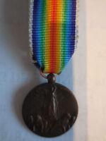 medaglia mignon interalleata vittoria 1° guerra mondiale 1914-18 victory medal
