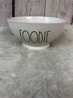 """RAE DUNN  """" Foodie  """"  Ceramic Soup Cereal Bowl  By Magenta New"""