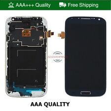 Per Samsung Galaxy S4 i9505 LCD Display Digitalizzatore Touch Screen + Cornice Assemblaggio