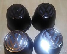 VW BUG Wheel Hub Cap Center Cup Type 4pcs Logo VOLKSWAGEN BEETLE TYPE2 Bus GUIA