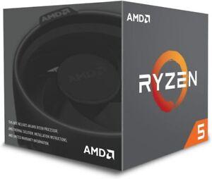 AMD BOX Prozessor RYZEN 5 2600 Socket AM4 3.9 Ghz Max Boost NEU