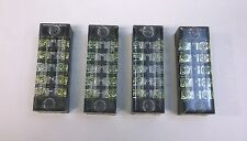 4 BBT 15 amp 5 Circuit Terminal Blocks w/Clear Safety Covers