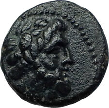 ARADOS in PHOENICIA Authentic Ancient 206BC Greek Coin w ZEUS & GALLEY i67981