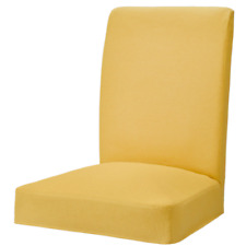 NEW IKEA HENRIKSDAL DINING CHAIR COVER SLIPCOVER ORRSTA YELLOW 204.707.64 SEALED
