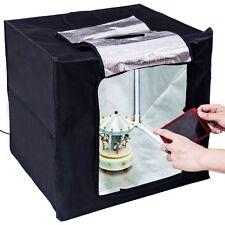 """32"""" Foldable LED Photo Studio Light Box Photography Lighting Tent Kit Cube"""