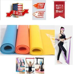 Resistance Band Stretch Pilates Yoga Physical Therapy Home Gym