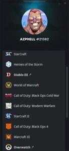 Compte Blizzard