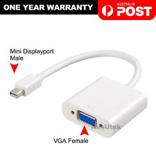 Mini DisplayPort Display Port to VGA Adapter Cable For Microsoft Surface Pro 3 4