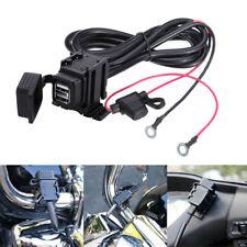 12V 2.1A Motorrad USB Power Steckdose Ladegerät Wasserdicht für Handy Auto