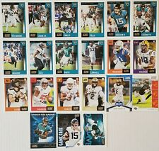 2020 Score Jacksonville Jaguars Master Team Set with RCs and Inserts 21 Card Lot