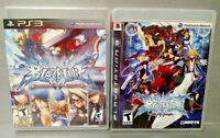 Blazblue Calamity Trigger + Shift Game Lot Sony PlayStation 3 PS3 Tested AKSYS