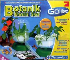 Galileo Botanik Basis Set Gewächshaus - Erde ab 8 Jahre Clementoni® NEU OVP