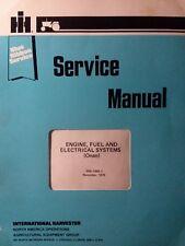 International 982 Cub Cadet Onan Engine Garden Tractor Gss 1484 Service Manual