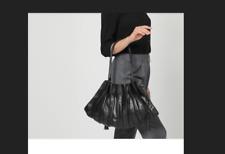 LUPO Barcelona   Modèle ABANICO  Superbe sac noir en cuir grand modèle !