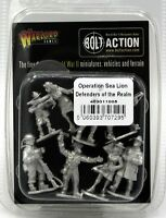 Bolt Action 403011005 Operation Sea Lion Defenders of the Realm (British) WWII