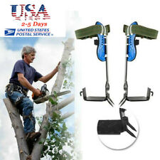 Ce Sharp 2Gears Tree Climbing Spike Set Safety Adjustable Rope Rescue Belt Tools