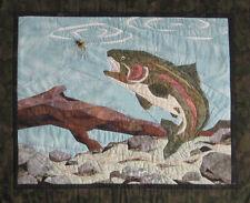 ANGLER'S DREAM Art Quilt Pattern by Cynthia England Design Studios Flyfishing