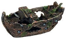 Wooden Shipwreck Decoration Fish Cave Ornament for Aquarium Fish Tank