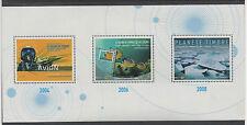 FRANCE 2008  BLOC FEUILLET DE 3 TIMBRES NEUF. SALON DU TIMBRE & DE L'ECRIT