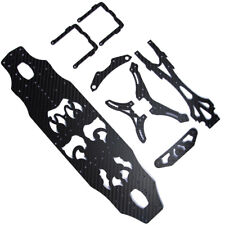 Newly Carbon Chassis Set for RC Sakura D4 1/10 AWD 4WD Drift Racing Car