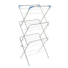 3 TIER FOLDING INDOOR OUTDOOR CLOTH CLOTHES DRYER AIRIER CONCERTINA LAUNDRY