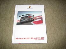 PORSCHE 911 gt3 RS & 911 gt3 (997) prospetto brochure di 7/2009, 116 pagine
