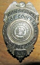Vintage OBSOLETE Town Of Cobleskill NY Constable Police Badge