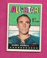 1967-68 TOPPS  # 121 RANGERS HARRY HOWELL  ALL STAR CARD (INV# C5269)