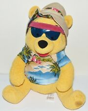 """Winnie the Pooh 11"""" Plush Pooh Pool Party Preowned Disney Store Exclusive"""