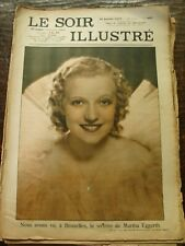 Le Soir Illustré - Martha Eggerth - Mariage de Julianna et Bernard - 16/1/1937