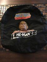 Vintage 1984 MOTU Heman Masters Of The Universe Book Bag Backpack Mattel Action*