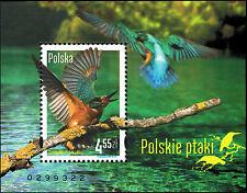 Polska Poland 2013 Fi BLOK 214 Mi BLOCK 213 MNH Polskie ptaki
