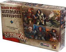 Zombicide: Black Plague Ultimate Survivors NEW & SEALED