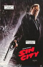 Poster:Movie Repro: Sin City - Bruce Willis Free Ship - #3751 Rap122 B