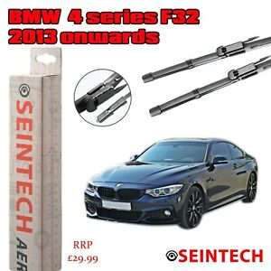 "BMW 4 SERIES F32 2013 ONWARDS SPECIFIC FIT FRONT WINDSCREEN WIPER BLADES 24""18"""